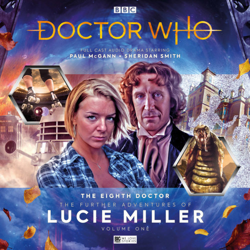 Doctor Who: The Eighth Doctor Adventures - The Further Adventures of Lucie Miller Big Finish Audio CD Boxed Set