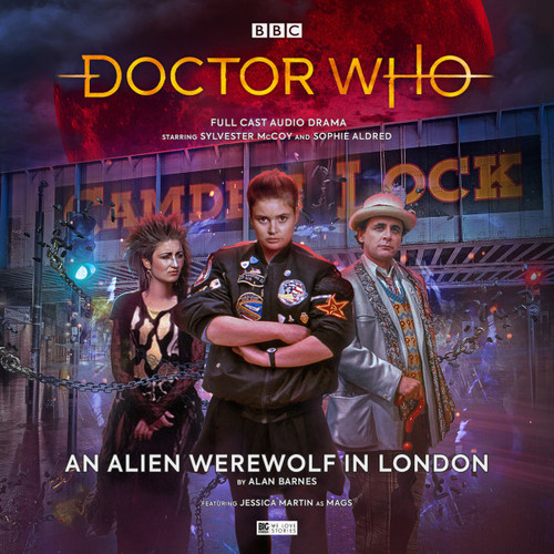 Doctor Who: AN ALIEN WEREWOLF IN LONDON - Big Finish 7th Doctor Audio CD #252