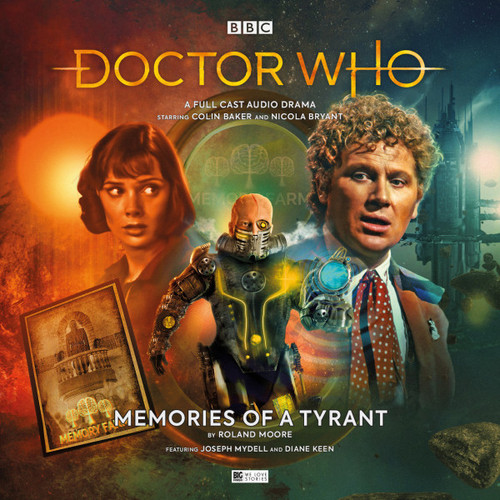 Doctor Who: MEMORIES OF A TYRANT - Big Finish 6th Doctor Audio CD #253