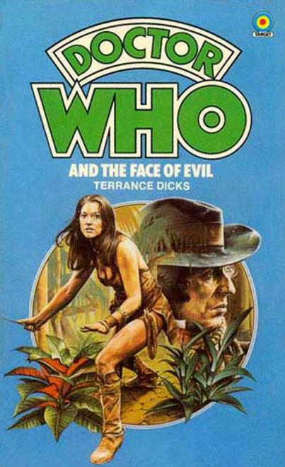 Doctor Who Classic Series Novelization - FACE OF EVIL - Original TARGET Paperback Book