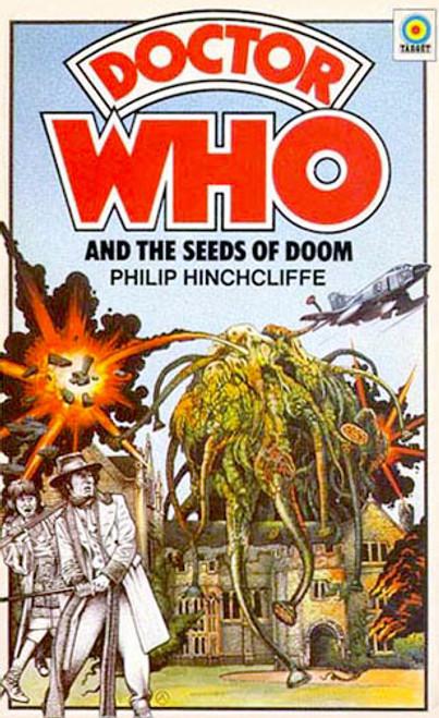 Doctor Who Classic Series Novelization - THE SEEDS OF DOOM - Original TARGET Paperback Book