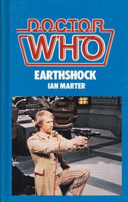 Doctor Who Classic Series Novelization - EARTHSHOCK - Original TARGET Paperback Book