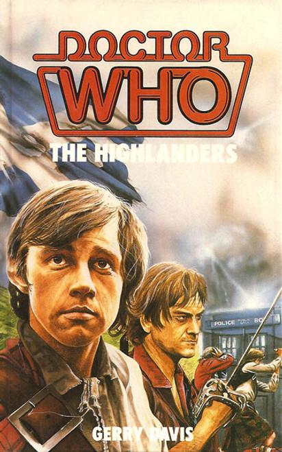 Doctor Who Classic Series Novelization - HIGHLANDERS - Original TARGET Paperback Book