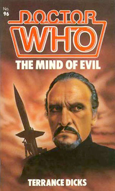Doctor Who Classic Series Novelization - THE MIND OF EVIL - Original TARGET Paperback Book