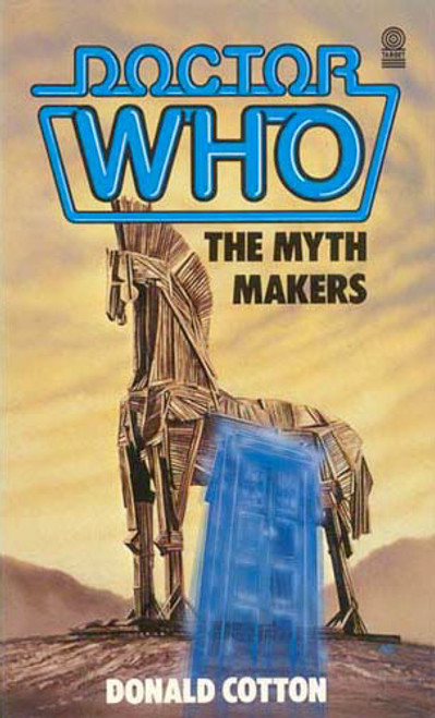 Doctor Who Classic Series Novelization - THE MYTH MAKERS - Original TARGET Paperback Book