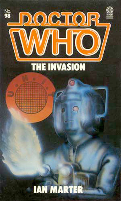Doctor Who Classic Series Novelization - THE INVASION - Original TARGET Paperback Book