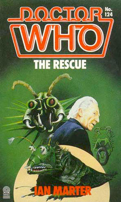 Doctor Who Classic Series Novelization - THE RESCUE - Original TARGET Paperback Book