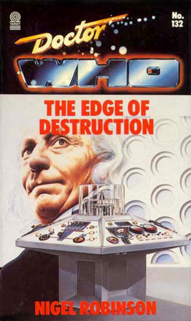 Doctor Who Classic Series Novelization - EDGE OF DESTRUCTION - Original TARGET Paperback Book