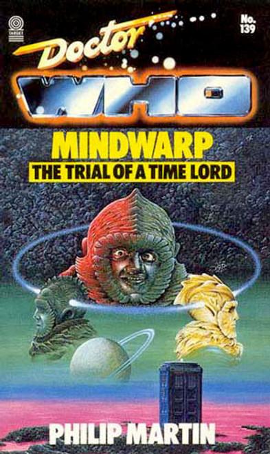 Doctor Who Classic Series Novelization - MINDWARP - Original TARGET Paperback Book