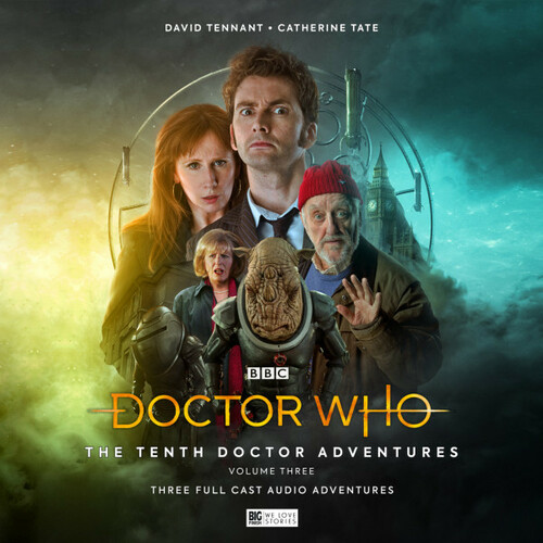 Tenth Doctor Adventures Volume 3 - Big Finish Limited Edition Audio CD Set