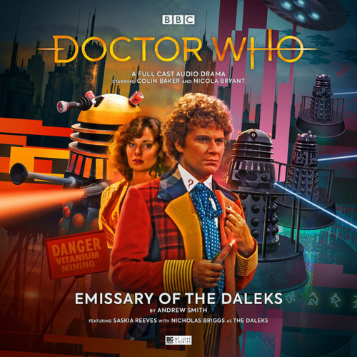 Doctor Who: EMISSARY OF THE DALEKS - Big Finish 6th Doctor Audio CD #254