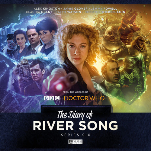 The Diary of River Song: Series 6 - Big Finish Audio CD Boxed Set