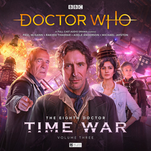 Doctor Who: The TIME WAR 3 - Eighth Doctor (Paul McGann) Big Finish Box Set