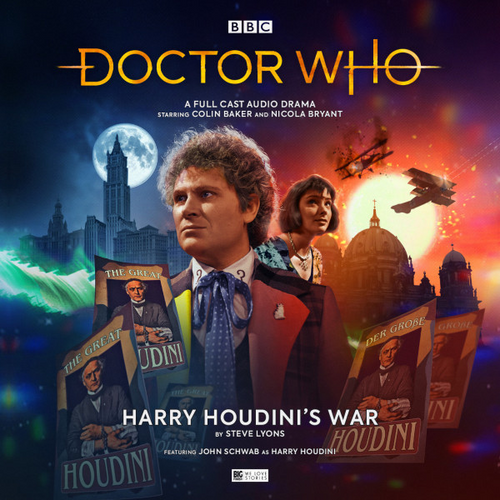 Doctor Who: HARRY HOUDINI'S WAR - Big Finish 6th Doctor Audio CD #255