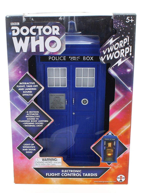DOCTOR WHO: 12th Doctor (Peter Capaldi) Flight Control TARDIS (for the 5 inch scale action figures)