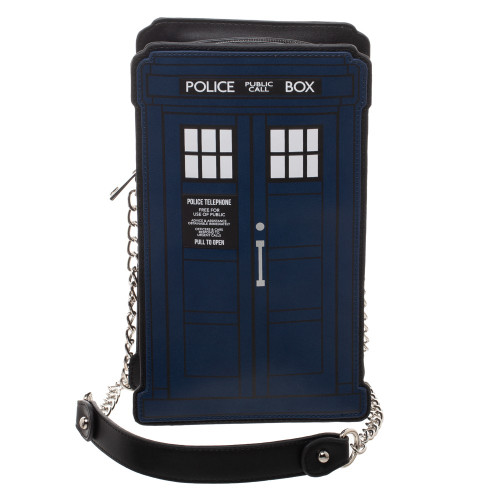 Doctor Who TARDIS Die-Cut Handbag / Purse