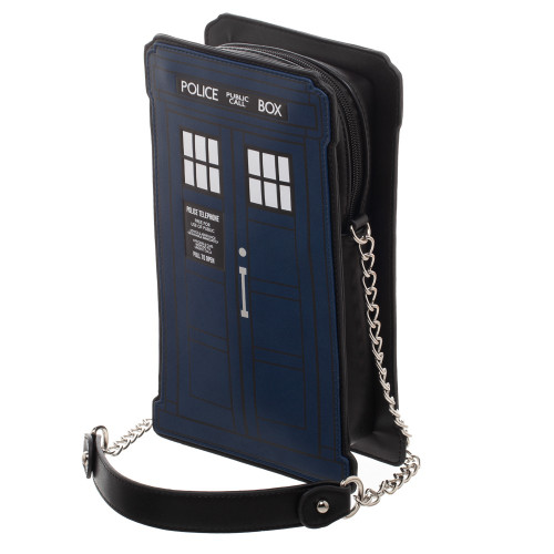 Doctor Who TARDIS Die-Cut Handbag / Purse