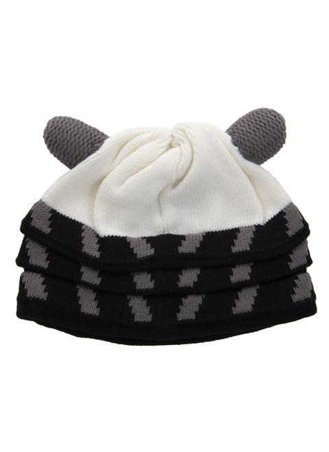 Doctor Who: WHITE DALEK Beanie Hat