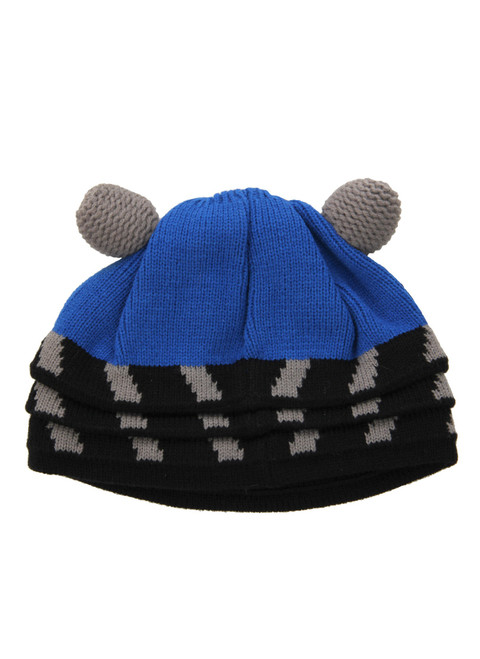 Doctor Who: BLUE DALEK Beanie Hat