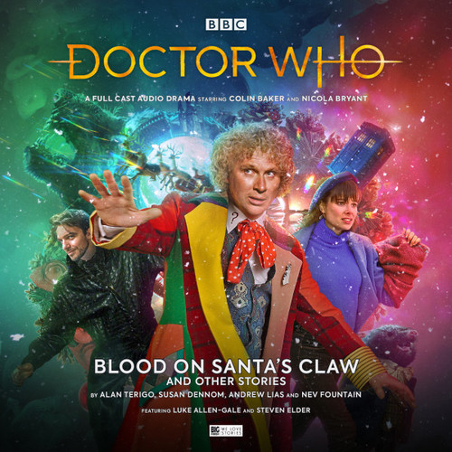Doctor Who: BLOOD ON SANTA'S CLAW (AND OTHER STORIES) - Big Finish Audio CD #259