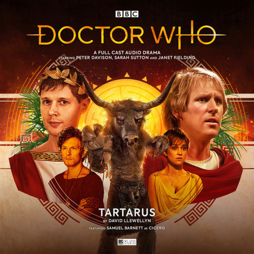 Doctor Who: TARTARUS - Big Finish 5th Doctor Audio CD #256