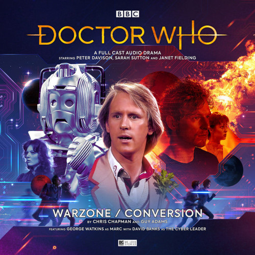 Doctor Who: WAR ZONE/CONVERSION - Big Finish 5th Doctor Audio CD #25