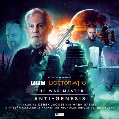 Doctor Who: The War Master Vol. 4: ANTI-GENESIS - Big Finish Audio CD Boxed Set