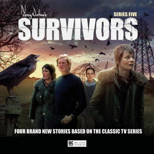 SURVIVORS: Series Five - Big Finish Audio CD Boxed Set