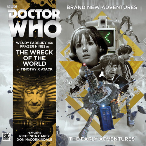 Doctor Who: The Early Adventures #4.4 - The WRECK OF THE WORLD - Big Finish Audio CD