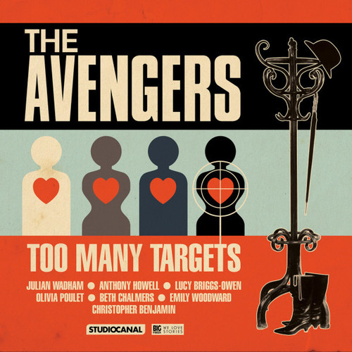 The Avengers - Too Many Targets - Big Finish Audio CD