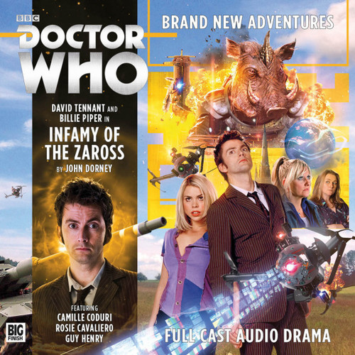 Doctor Who: The Tenth Doctor Adventures 2.1 - INFAMY OF THE ZAROSS - Big Finish Audio CD