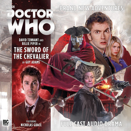 Doctor Who: The Tenth Doctor Adventures 2.2 - SWORD OF THE CHEVALIER - Big Finish Audio CD