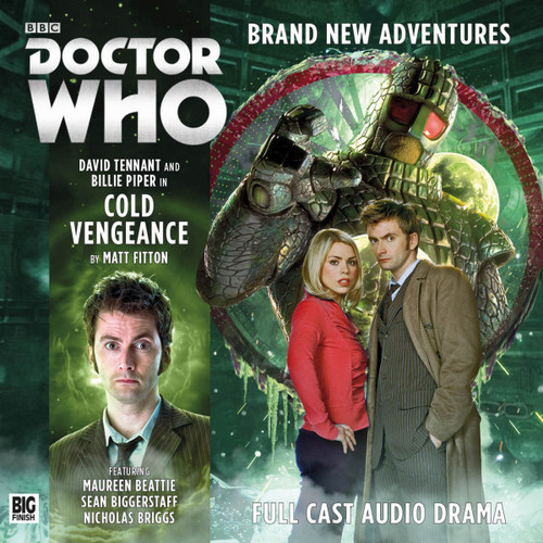 The Tenth Doctor Adventures 2.3 - Cold Vegeance Big Finish Audio CD