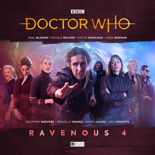 Doctor Who: RAVENOUS 4 - Eighth Doctor (Paul McGann) Big Finish Box Set