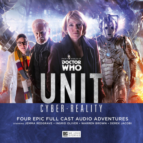 UNIT #6: CYBER-REALITY - Big Finish Doctor who Series Audio CD Boxed Set