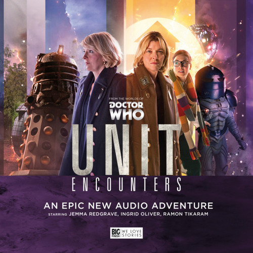 UNIT #7: ENCOUNTERS - Big Finish Doctor who Series Audio CD Boxed Set