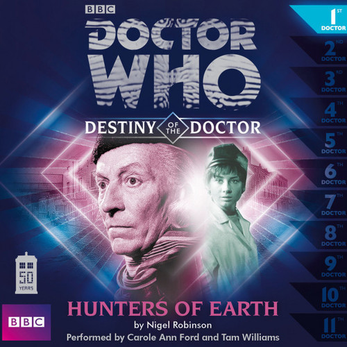 Doctor Who - Destiny of the Doctor #1: Hunters of Earth Big Finish Audio CD