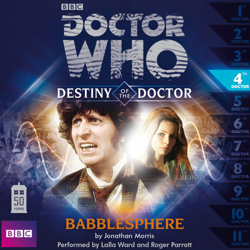 Doctor Who - Destiny of the Doctor #4: Babblesphere Big Finish Audio CD