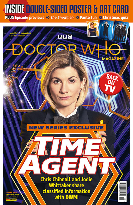Doctor Who Magazine #546 - New Series Preview Deluxe Issue.