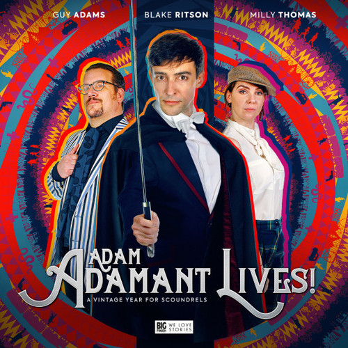 Adam Adamant Lives! Volume 01: A Vintage Year for Scoundrels - Big Finish Audio CD