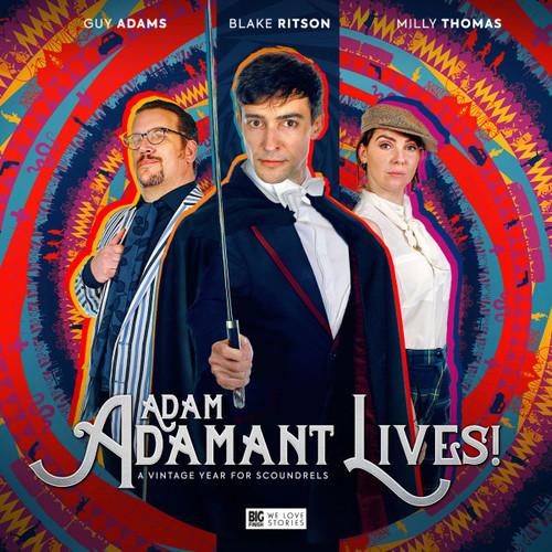 Adam Adamant Lives! Volume 01: A Vintage Year for Scoundrels - Big Finish Audio CD