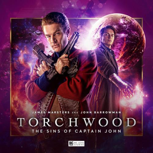 Torchwood: The SINS OF CAPTAIN JOHN - Big Finish Audio CD Boxed Set