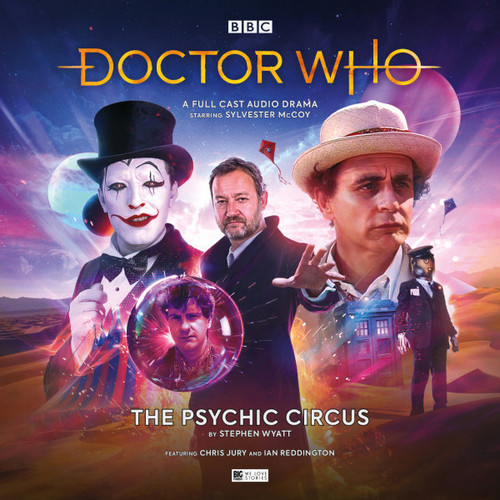Doctor Who: THE PSYCHIC CIRCUS - Big Finish 7th Doctor Audio CD #261