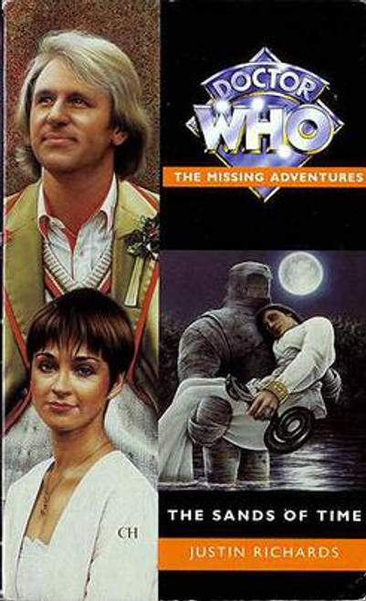 Doctor Who Missing Adventures Paperback Book  - SANDS OF TIME  by Justin Richards