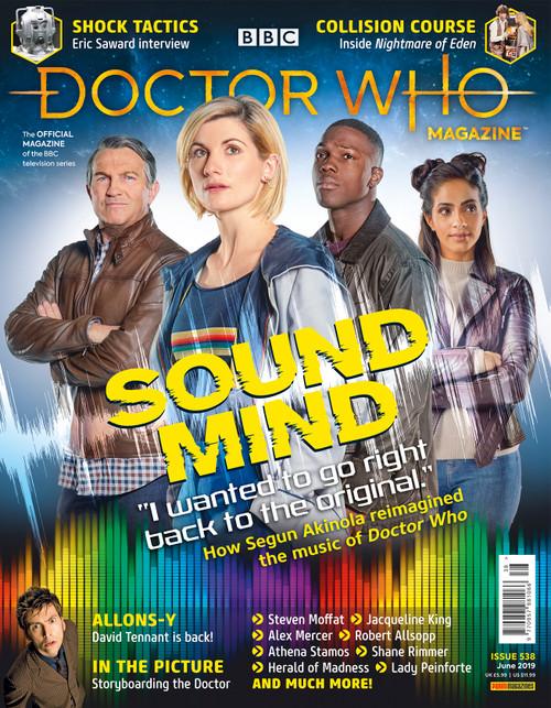 Doctor Who Magazine #538 - Composer Segun Akinola Interview
