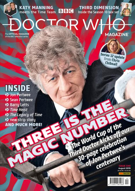 Doctor Who Magazine #540 - Celebrates Jon Pertwee's Centenary