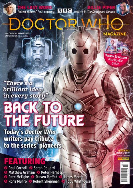 Doctor Who Magazine #542 - Tribute to the Series' Pioneers