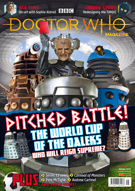 Doctor Who Magazine #545 - World Cup of the Daleks