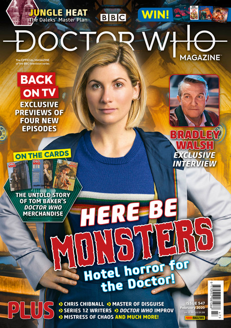 Doctor Who Magazine #547 - Bradley Walsh Interview