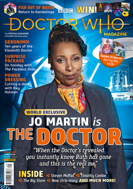 Doctor Who Magazine #549 - Jo Martin Is The Doctor!